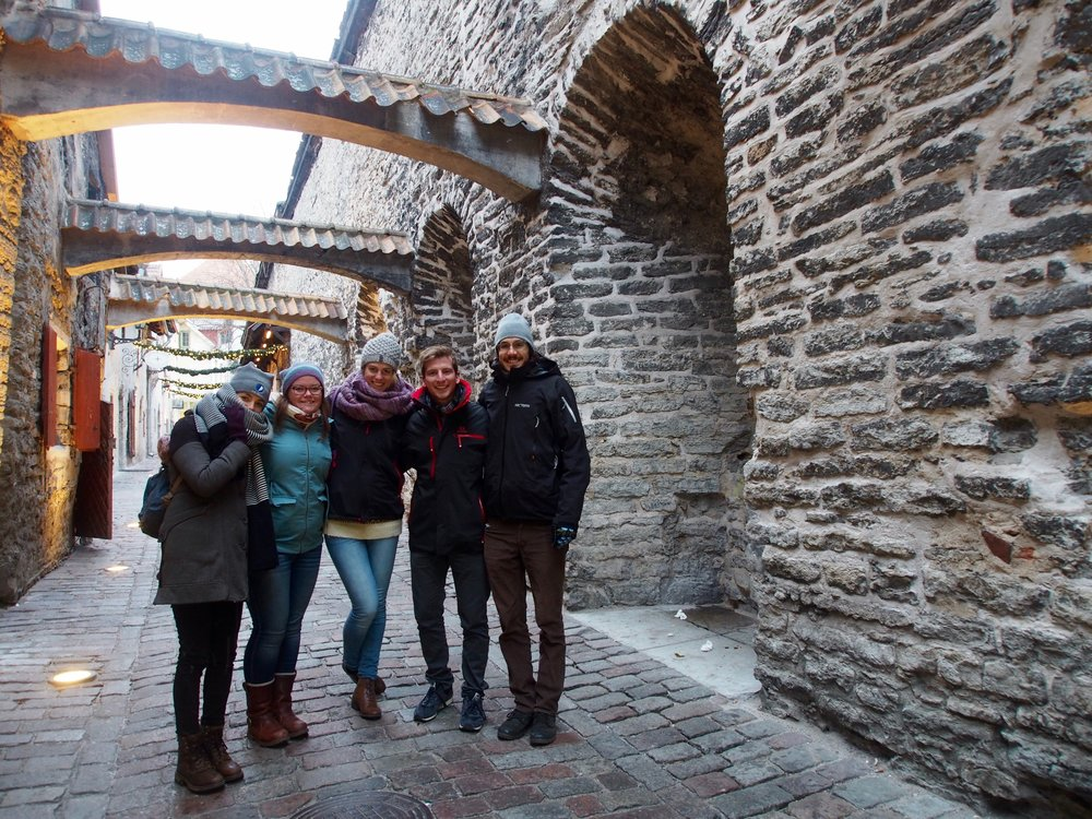 Freezing with the best people, Estonia Jan 1, 2015