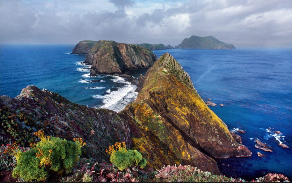 Stock photo of Anacapa Island