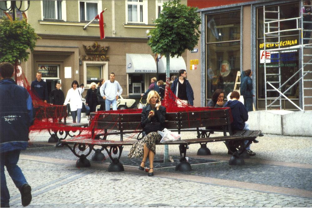 Breslau, Polen, Fußgängerzone, Euro-Art Meeting, 2000