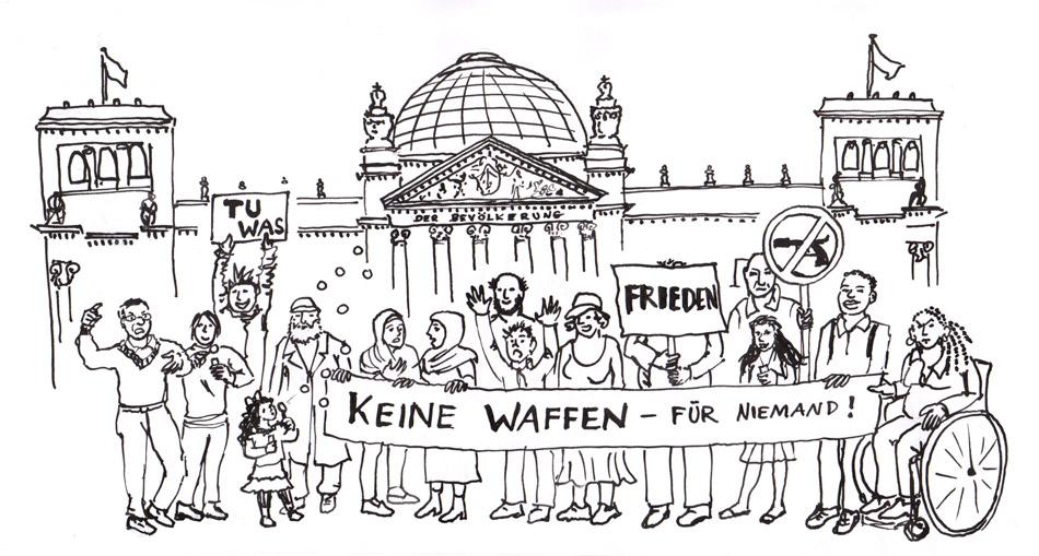 Illustration für die fanziskanische Initiative 1219,Religions- und Kulturdialog, 2015