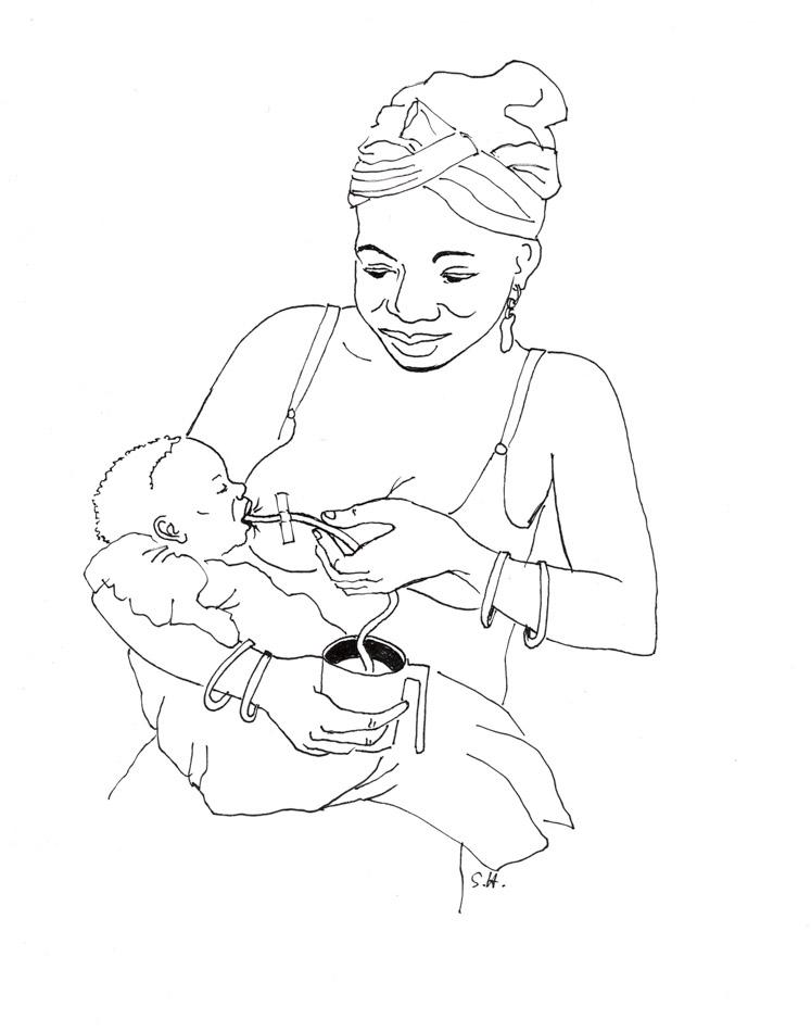 Erklärende Zeichnung für eine Ärzte ohne Grenzen Studie von Sabine Vygen, 2012