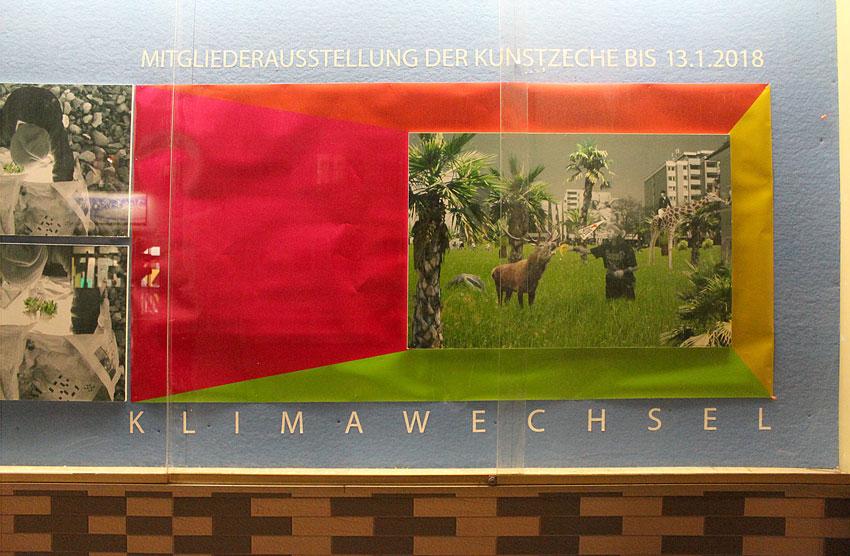 Thomas Grubert: Klimawechsel im Schaukasten