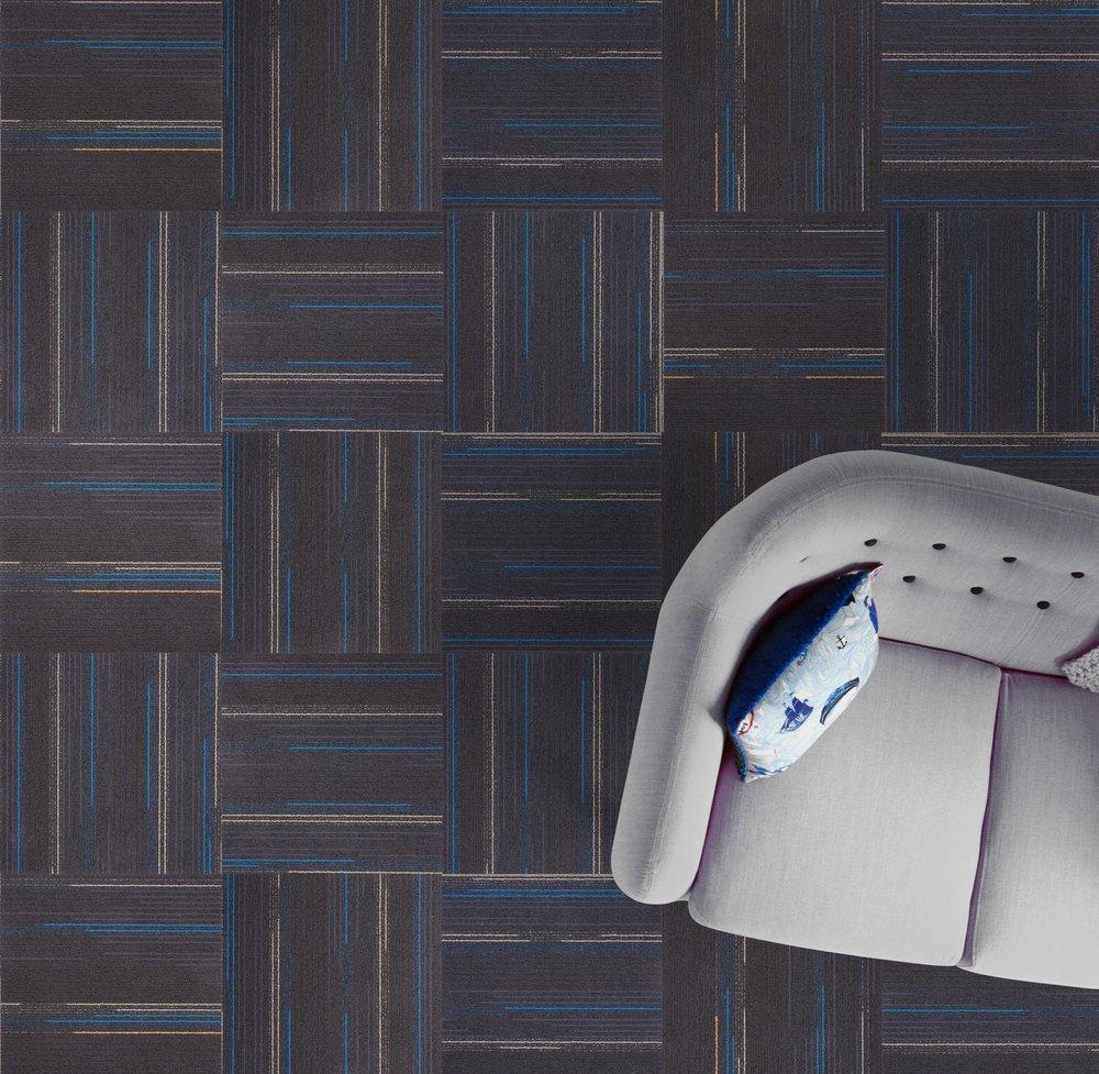 THÉ AUX BLEUETS — 60053 50cm x 50cm