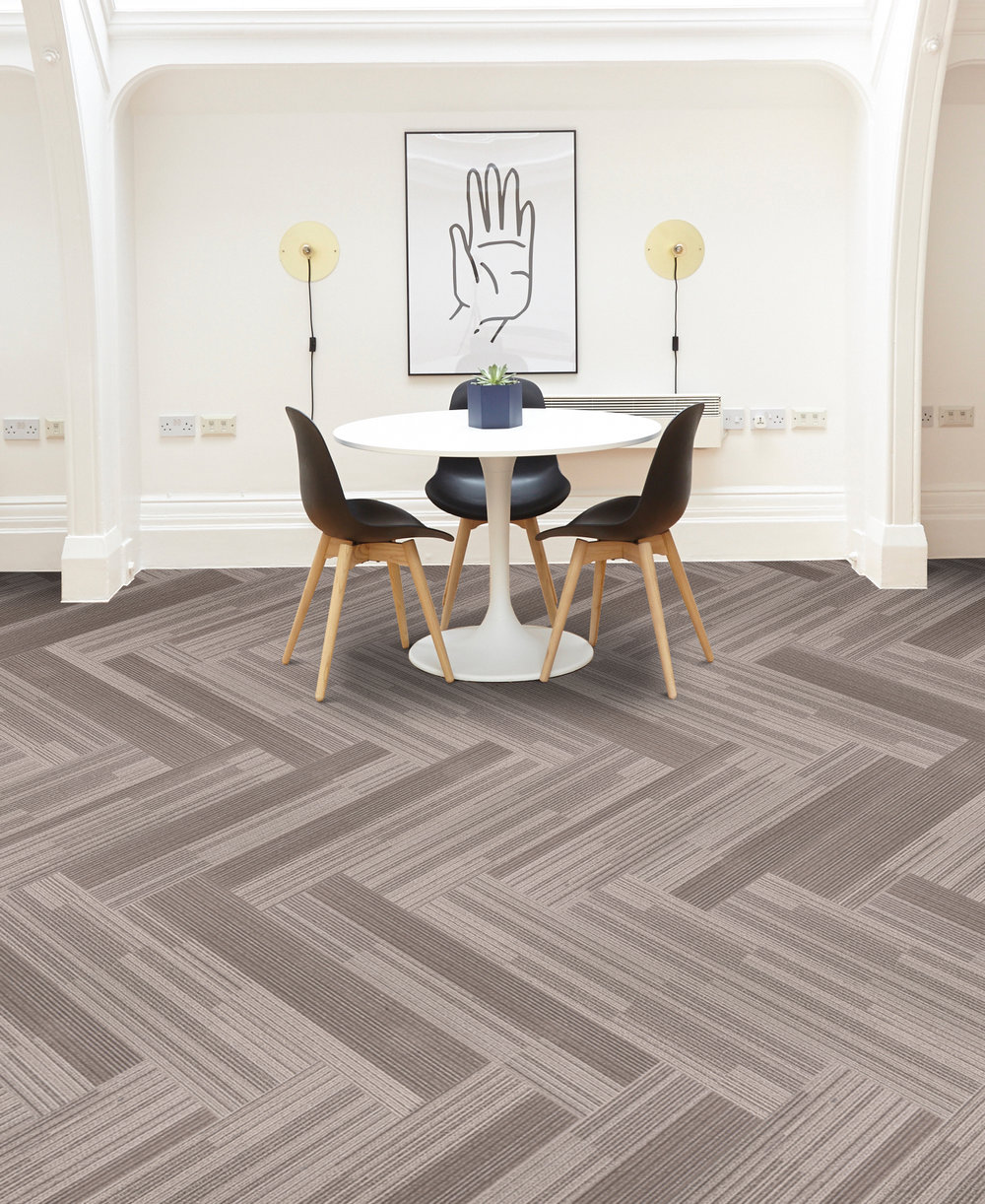 install carpet tiles wood floor