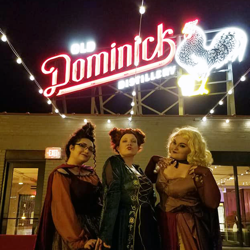 Hocus Pocus    Our first weekend only concept! Thank you Old Dominick for hosting us, we will be back when the whiskey's flowing!    Where: Old Dominick Tasting Room      Start Date: October 12      End Date: October 15      Opened: Thursday-Sunday       (CONCEPT FLEW AWAY)