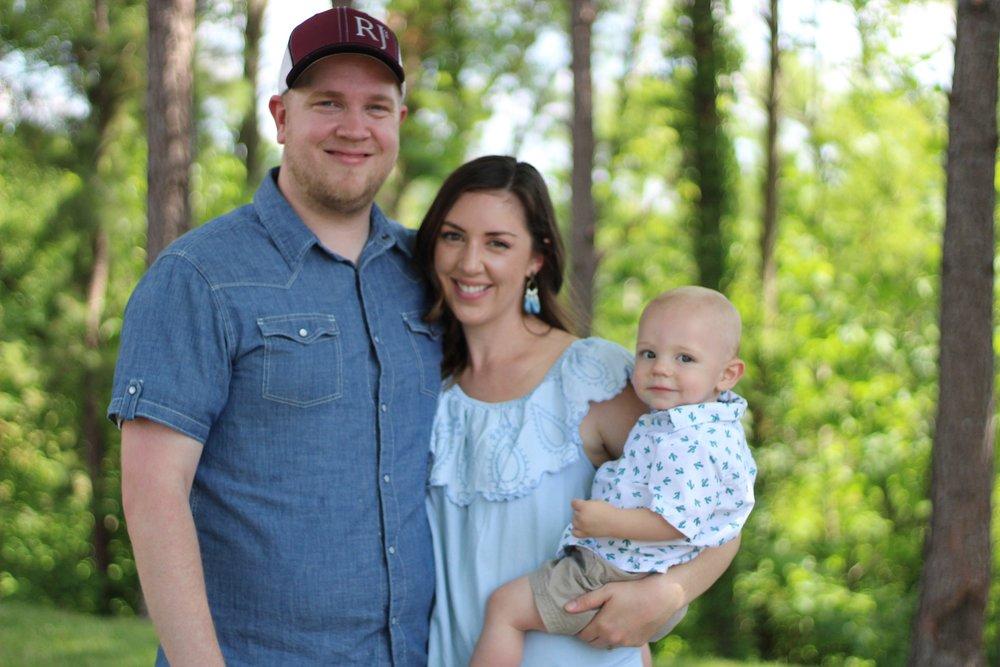 Doug, Ezra, and Elise Hodges