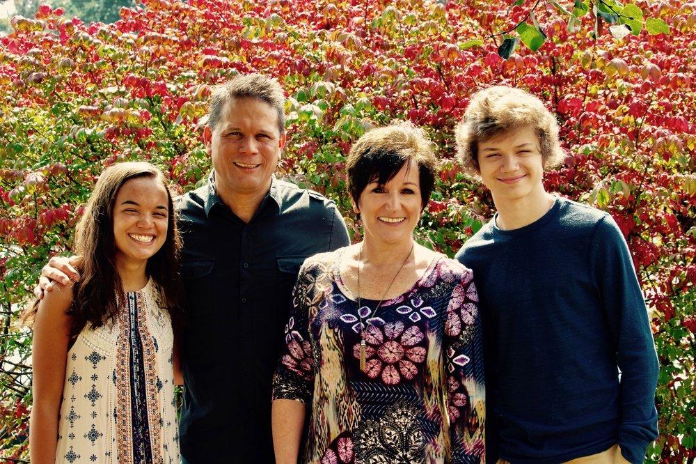 Sylvia, Dwyane-Eddie, Shelley, and Trevor Kappauf