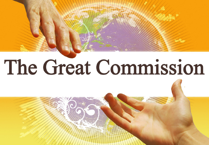 the great commission - All four Gospels reveal the mighty command,