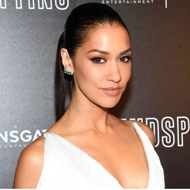 The lovely Janina Gavankar at the last night's premiere of her new movie Blindspotting. Hair by me.... Makeup by @robertsesnek @janina #anthonycampbellhair #campbellandcampbellsalon #blindspotting #janinagavankar