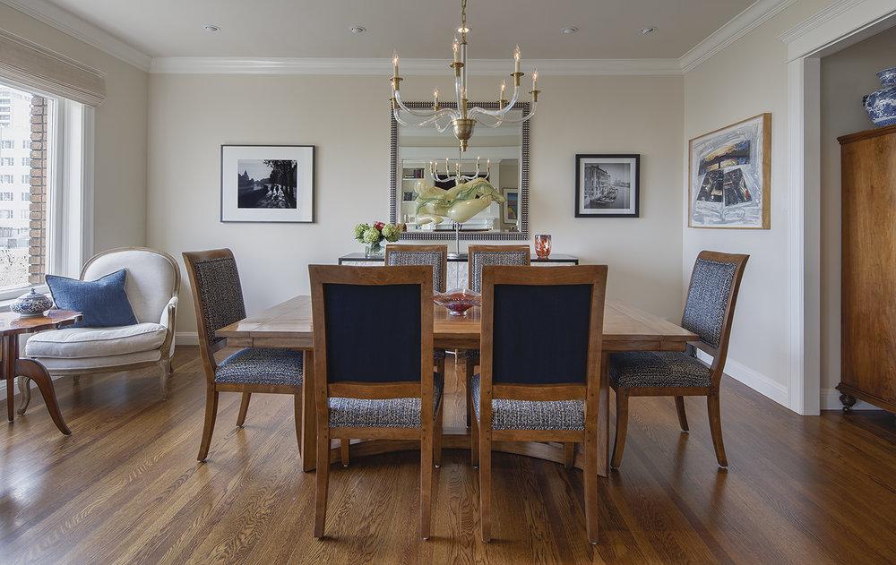 Hyde Street Condo Dining Room - San Francisco, California