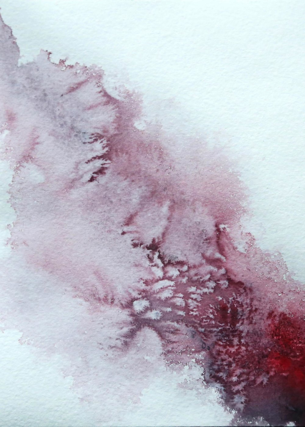 Underworld-Otherworld, 2015. Watercolor on Paper, 6x8