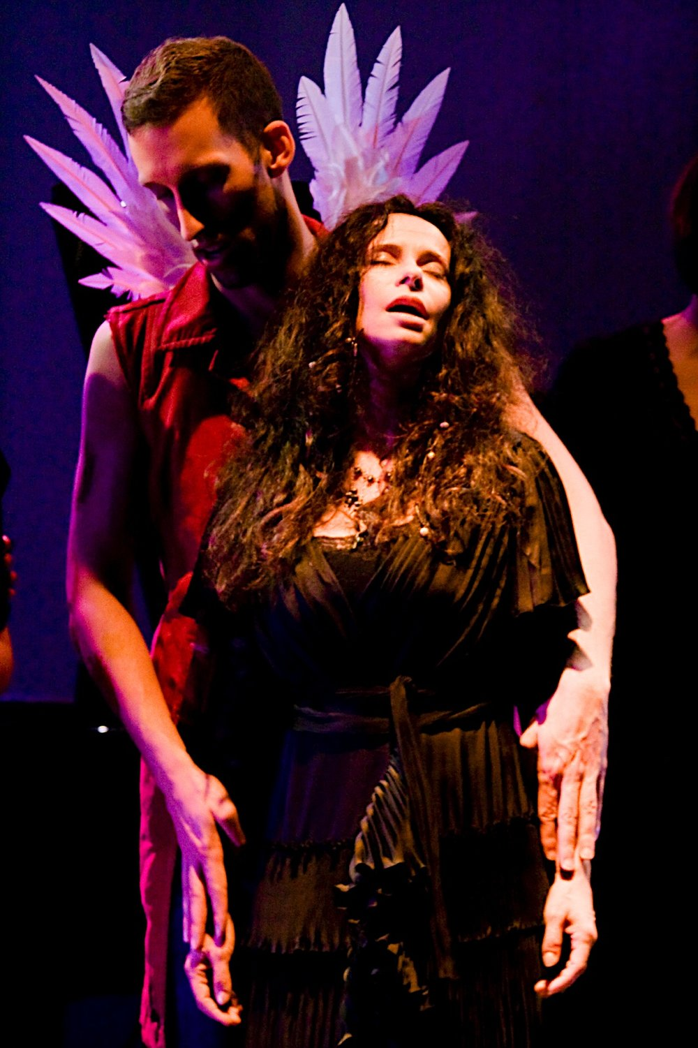 The 10th Muse. Misha Penton, soprano, concept, director. Alison Greene, Michael Walsh, Shelley Auer, Dennis Arrowsmith, Jill Alexander Essbaum, Kade Smith, with Stephen Jones, piano, et al. Photos: E. Melear.