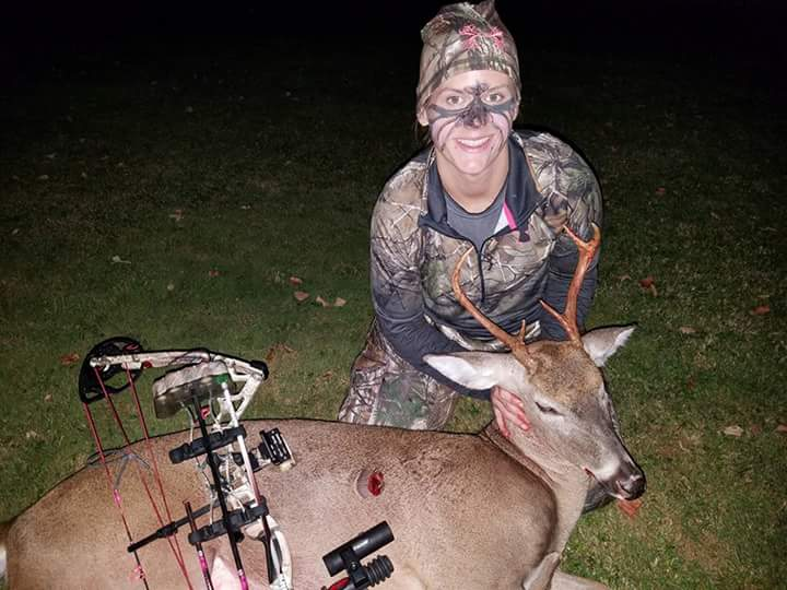 Congratulations to Erin on her nice 2017 buck.