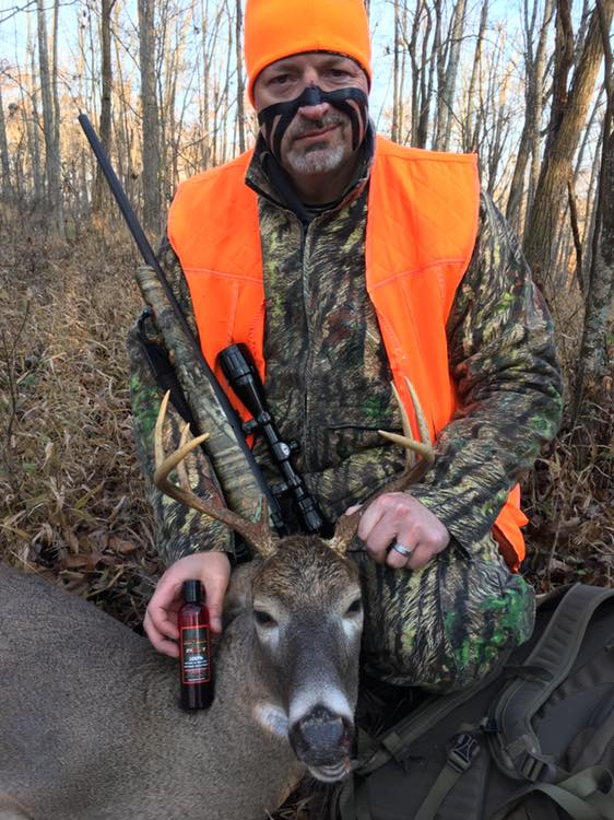 Larry May    Nice job Larry on your 2018 buck!