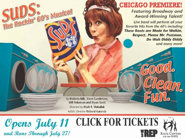 Marge,  Suds: The Rocking 60's Musical Soap Opera, Raue Center For The Arts