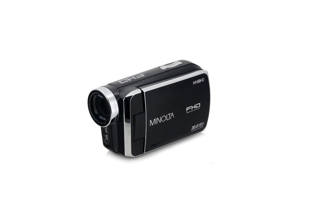 mn50hd full hd 1080p camcorder black minolta digital rh minoltadigital com Minolta Camcorders Discontinued Products Minolta 8Mm Camcorder