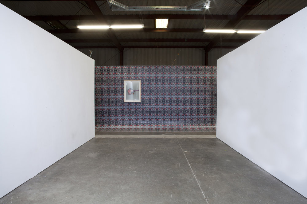 Installation view: Dalton Warehouse, Los Angeles CA