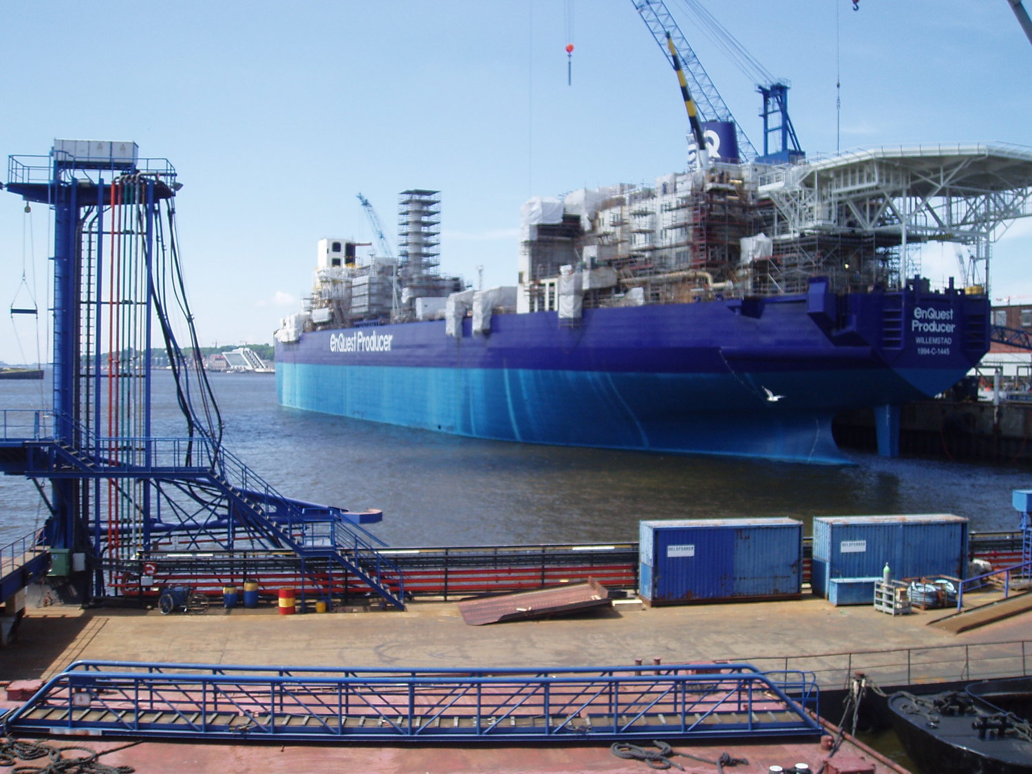 FPSO ENQUEST PRODUCER READY FOR FIRST OIL — HEC