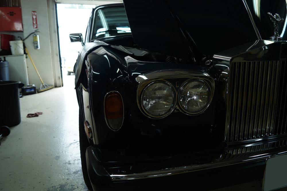 Birkshire Automobiles Britsh Car Service 1980 Rolls Royce Siver Shadow 2 (9).JPG