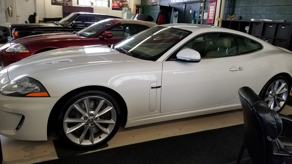 2010 Jaguar XKR Coupe - Beautiful 2010 Jaguar XKR Coupe. Engine is the 5 L supercharged producing 510 hp. Fully loaded, cruise control, heated /air cooled front seats, sport mode dynamic race mode, navigation, dual climate control and much more. Accident free.