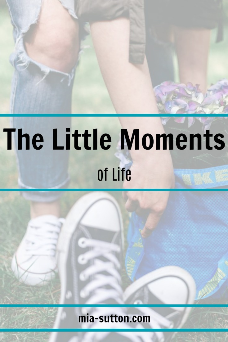 Appreciating the little moments of life | mia-sutton.com