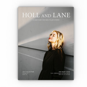 NEW - Holl & Lane Magazine - The Heart issue