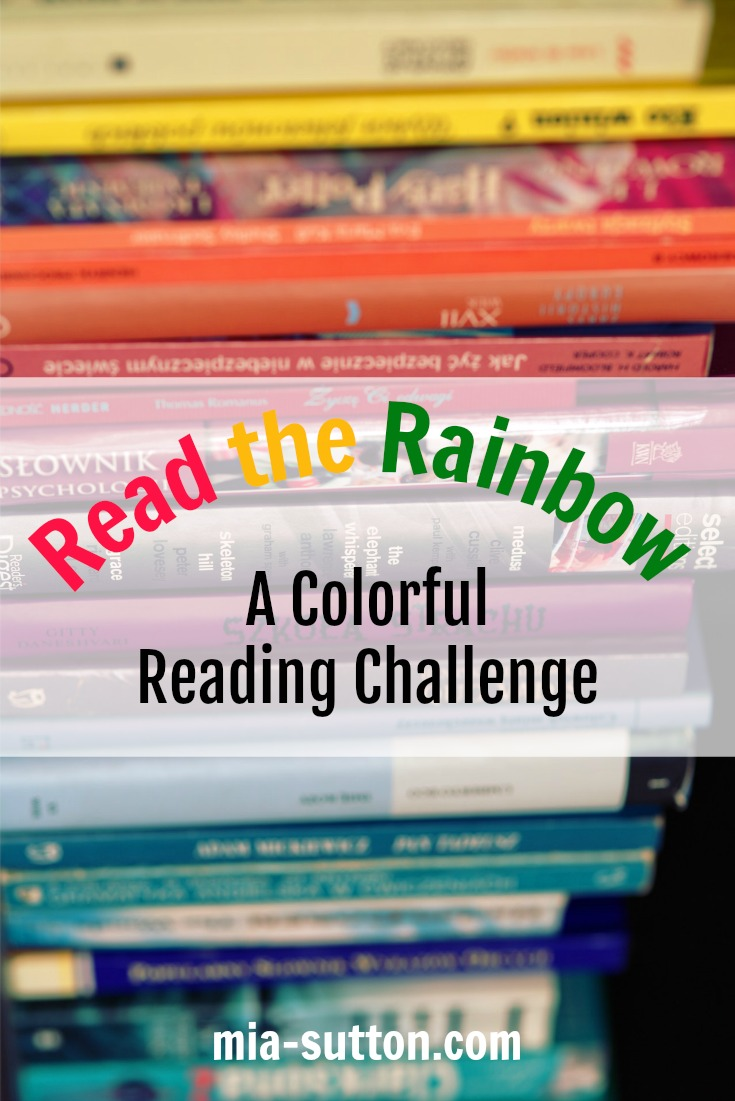 Announcing the 2018 Read the Rainbow Reading Challenge! | mia-sutton.com