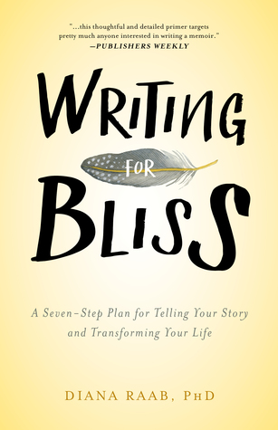 Writing For Bliss by Diana Raab - Writing for Bliss is most fundamentally about reflection, truth, and freedom. With techniques and prompts for both the seasoned and novice writer, it will lead you to tap into your creativity through storytelling and poetry, examine how life-changing experiences can inspire writing, pursue self-examination and self-discovery through the written word, and, understand how published writers have been transformed by writing.
