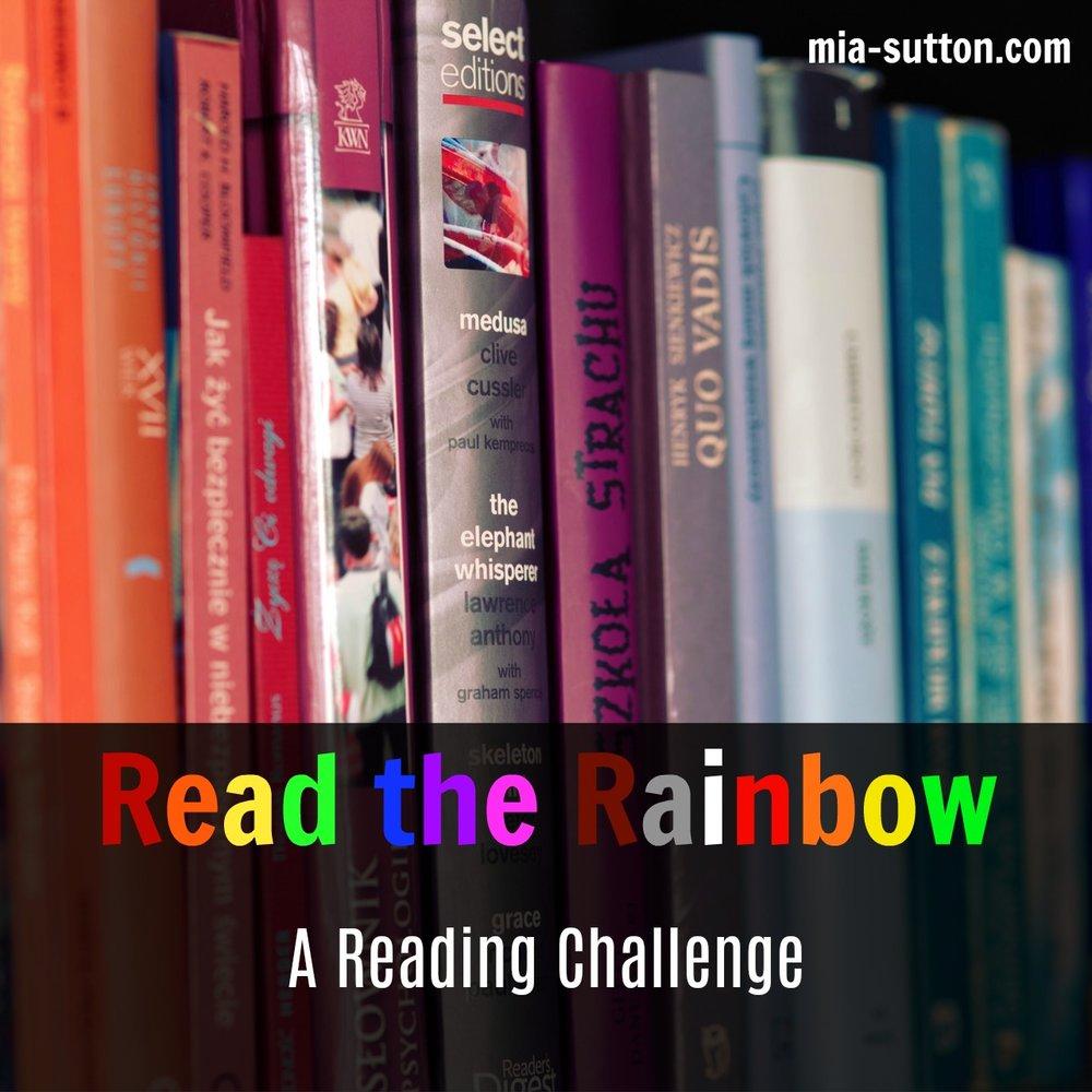 Read the Rainbow Reading Challenge 2018