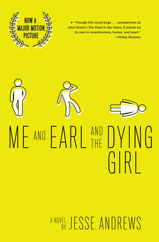 Me and Earl and the Dying Girl - By Jesse Andrews (Fiction)3 out of 5 starsI think this book really represented the mind of a teenage boy very well. It felt authentic, it felt like how teenage boys really speak to each other. With that being said, it was almost TOO