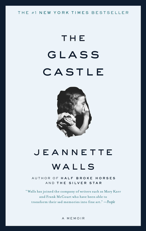 The Glass Castle by Jeannette Walls - This is a remarkable memoir of resilience and redemption, and a revelatory look into a family at once deeply dysfunctional and uniquely vibrant. When sober, Jeannette's brilliant and charismatic father captured his children's imagination, teaching them physics, geology, and how to embrace life fearlessly. But when he drank, he was dishonest and destructive. Her mother was a free spirit who abhorred the idea of domesticity and didn't want the responsibility of raising a family.