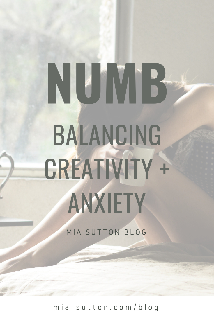 About 4 years ago, I was diagnosed with generalized anxiety disorder. I took my prescribed medication and it helped tremendously. My panic attacks and other symptoms mostly went away and I felt so much better. Except when it came to my writing. My mental health was great, but my creative muscle was numb.   Click to read more from Mia Sutton at mia-sutton.com/blog #anxiety #mentalhealth #creativity #medication