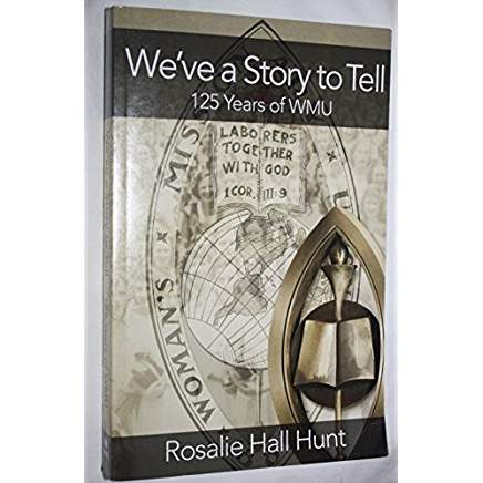 We've a Story to Tell book cover