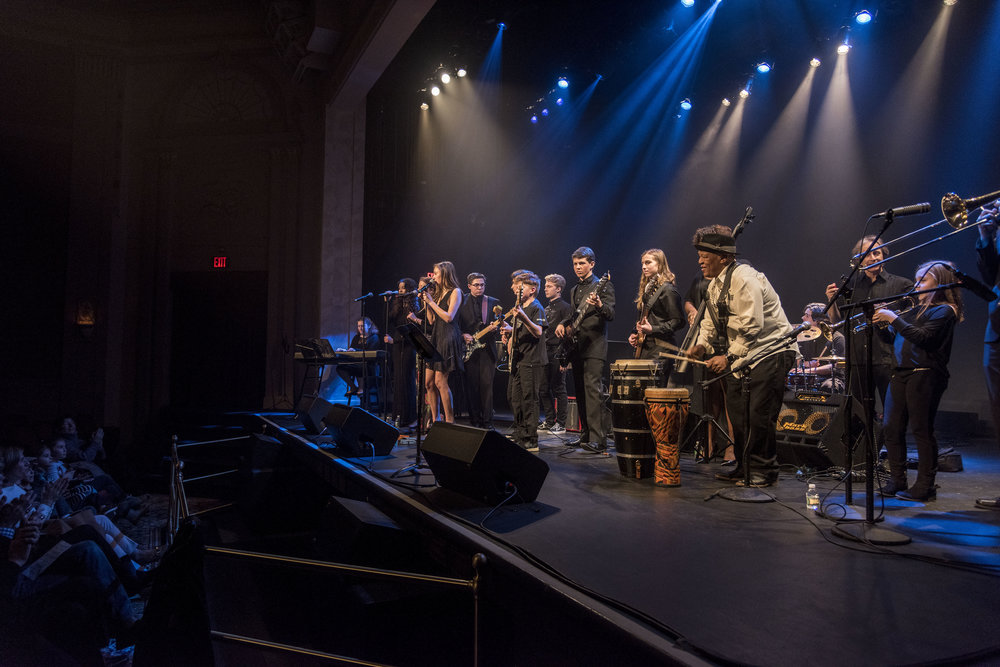 Bakithi Kumalo + Students Performing