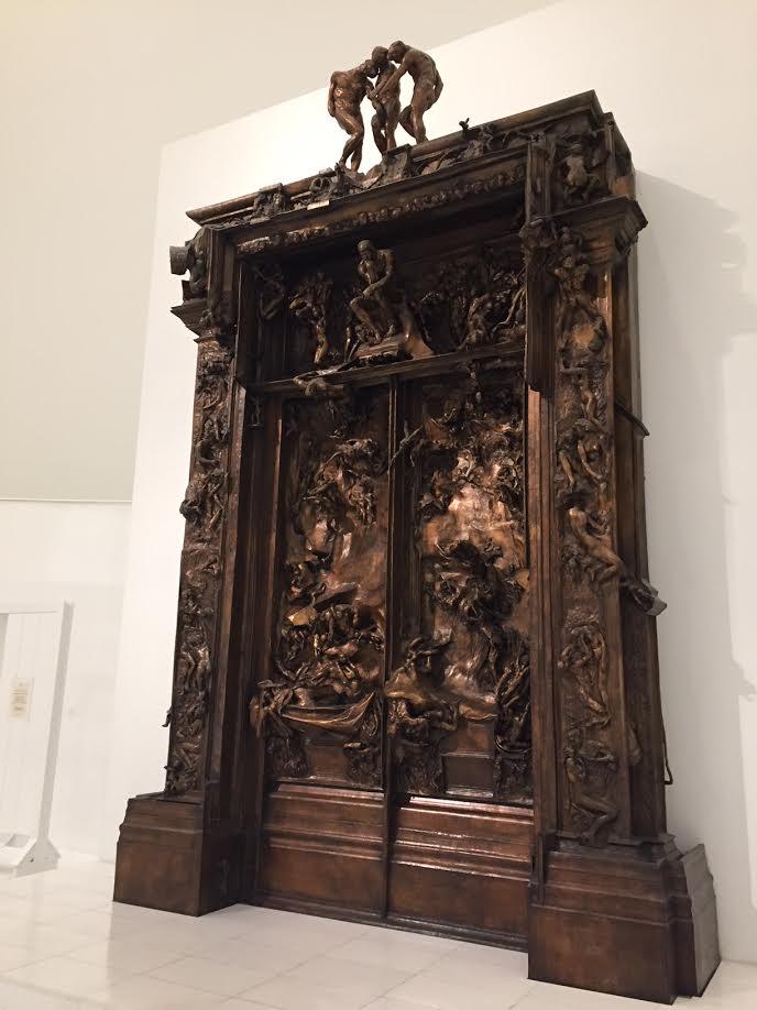 Rodin Gates of Hell - Museo Soumaya