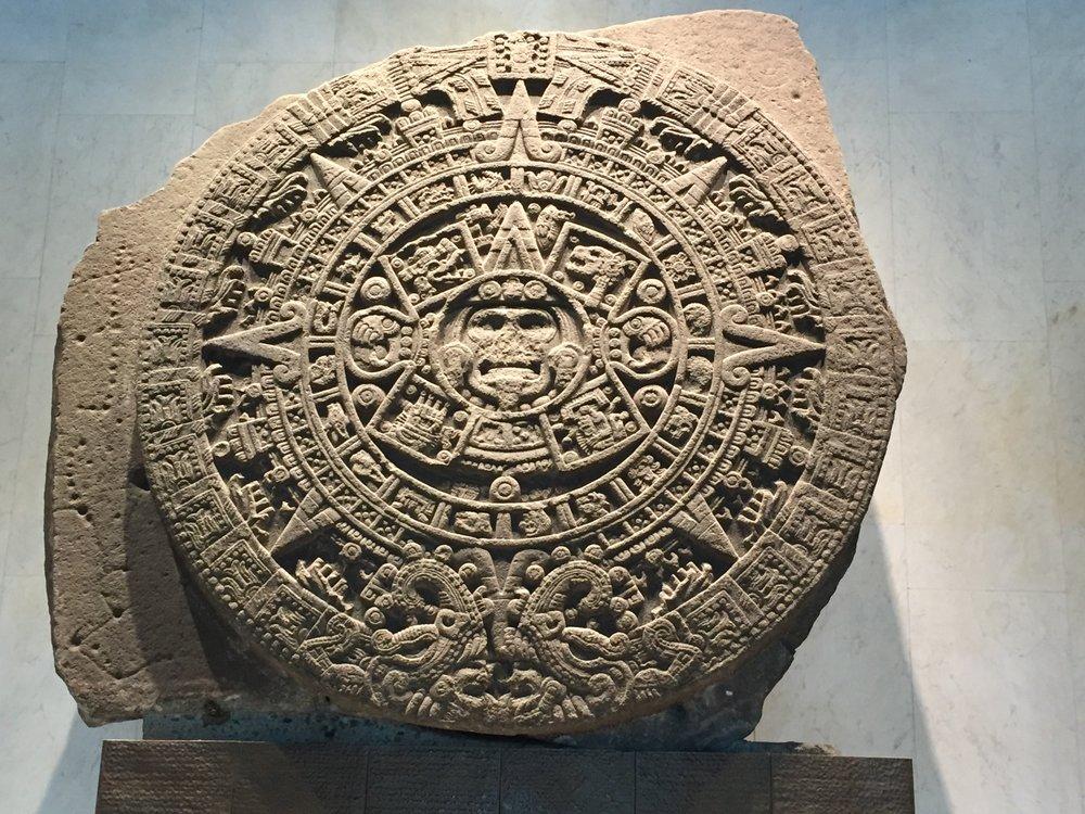 Aztec Sun Symbol - National Anthropology Museum