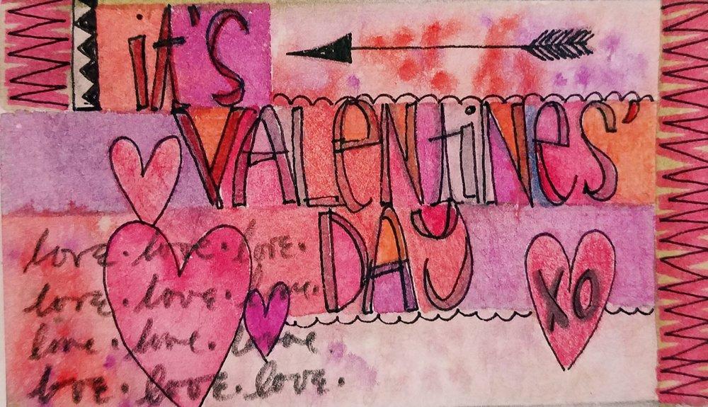 It's Valentine's Day. T. Folks