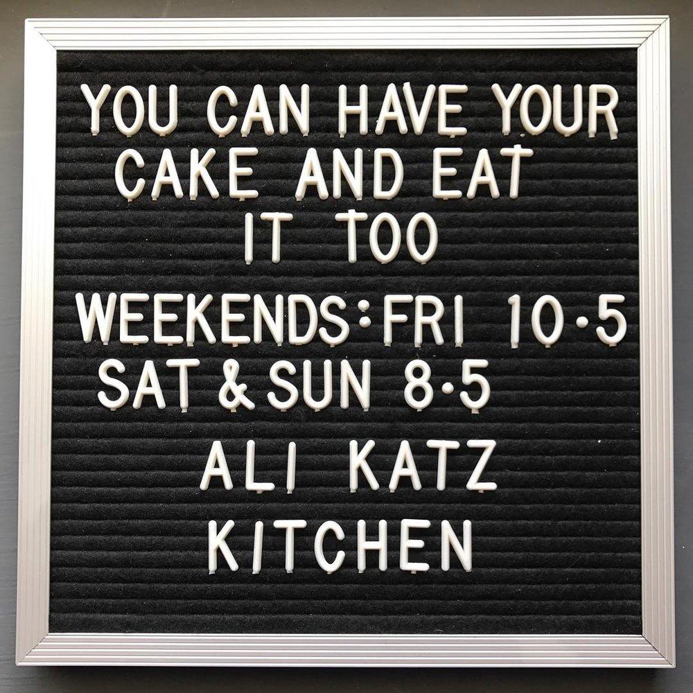 Let 'em Eat Cake
