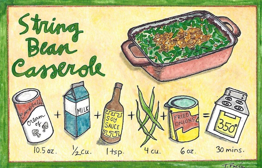 String Bean Casserole.