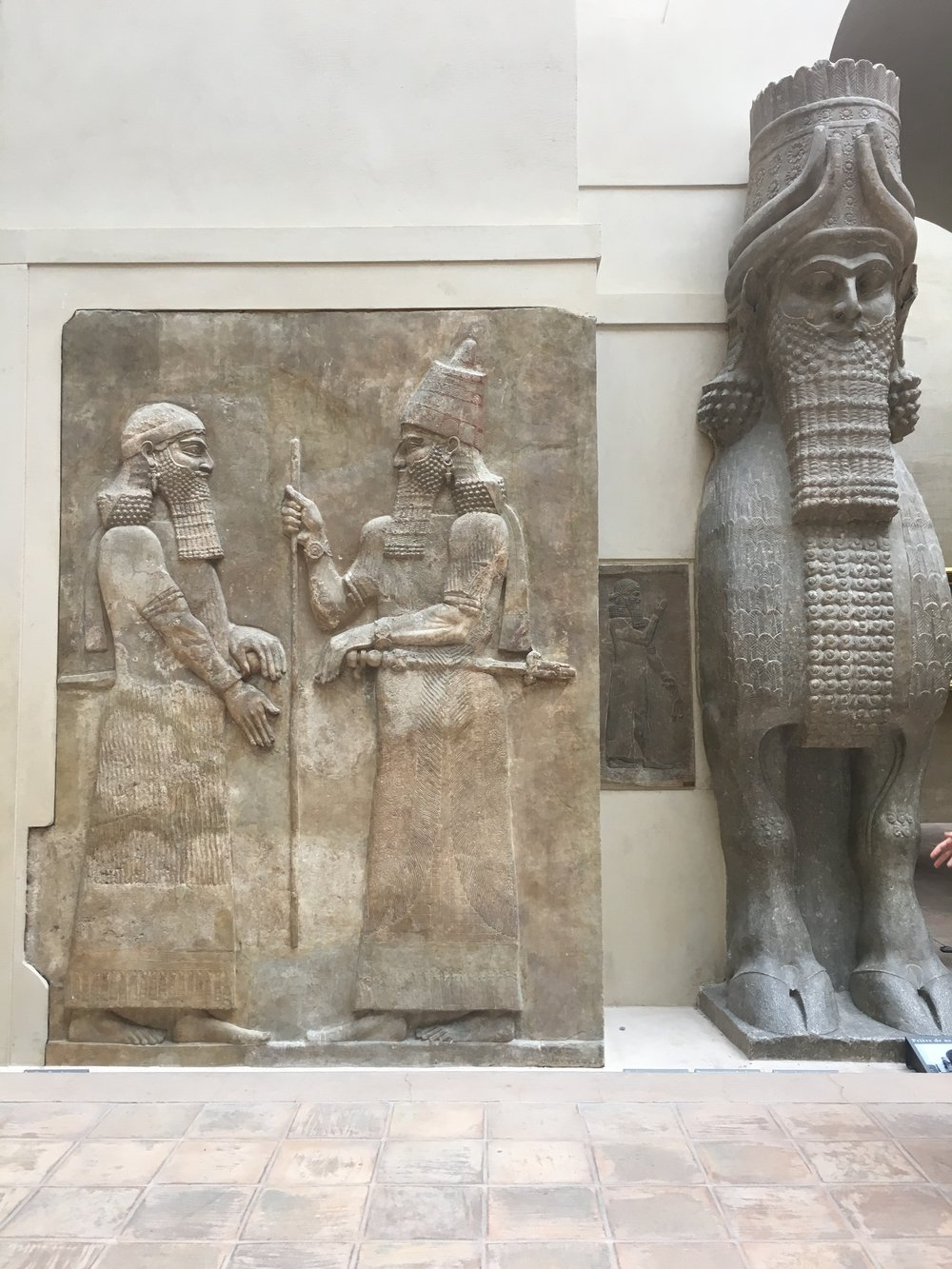 Assyrian Historic Monuments, Paris, France