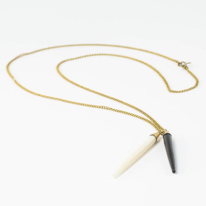 Bone Craft Pendant Designed by Plume