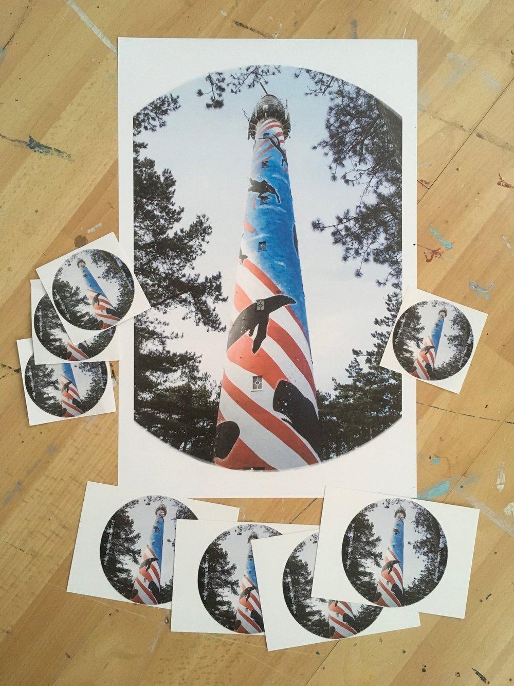 Vuurtoren Posters, Stickers en Ansichtkaarten
