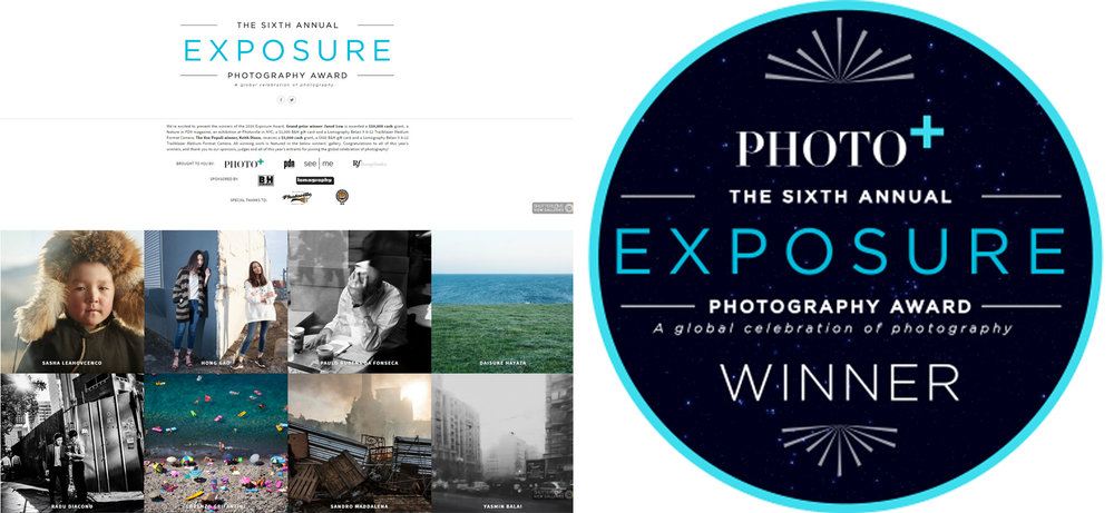 Photo + Exposure Award Winner