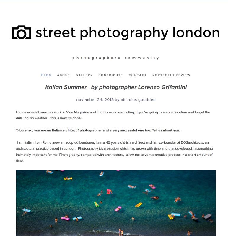 Street Photography Londone_Italian Summer