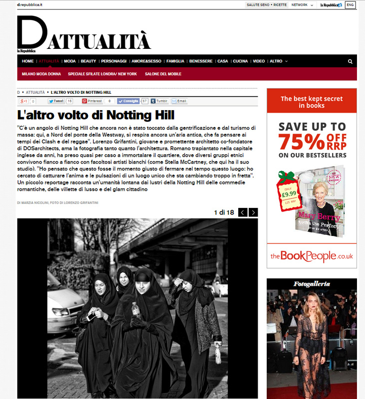 La Repubblica_W10 London
