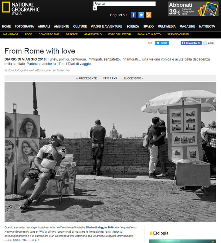 National Geographic Italy_ From Rome with love