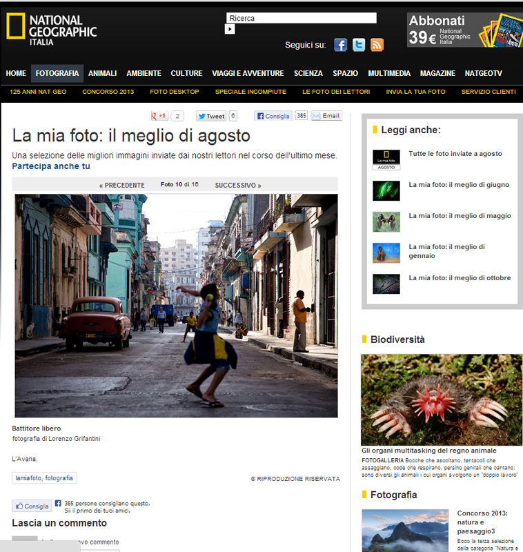 National Geographic Italy_ Il battito di Cuba
