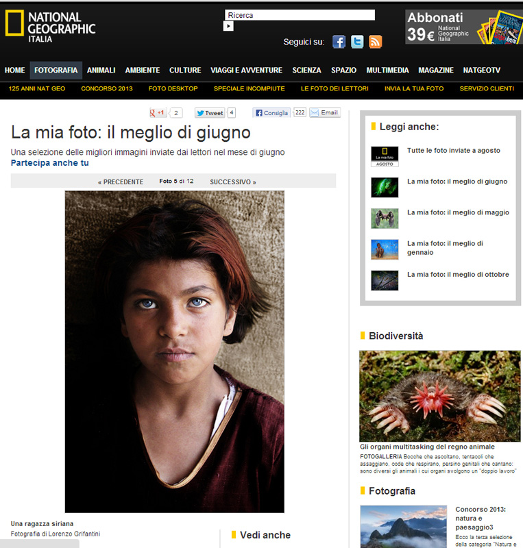 National Geographic Italy_ The girl from Syria