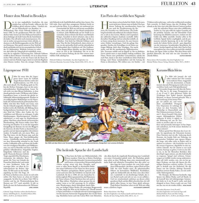 DIE ZEIT Magazine_Italian Summer