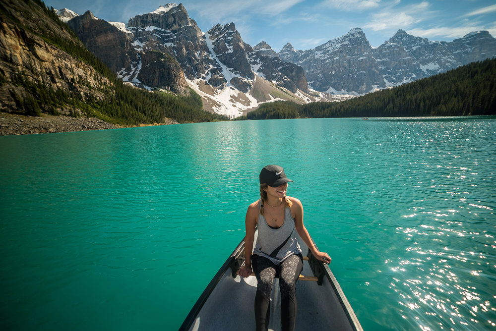 Moraine Lake boat ride